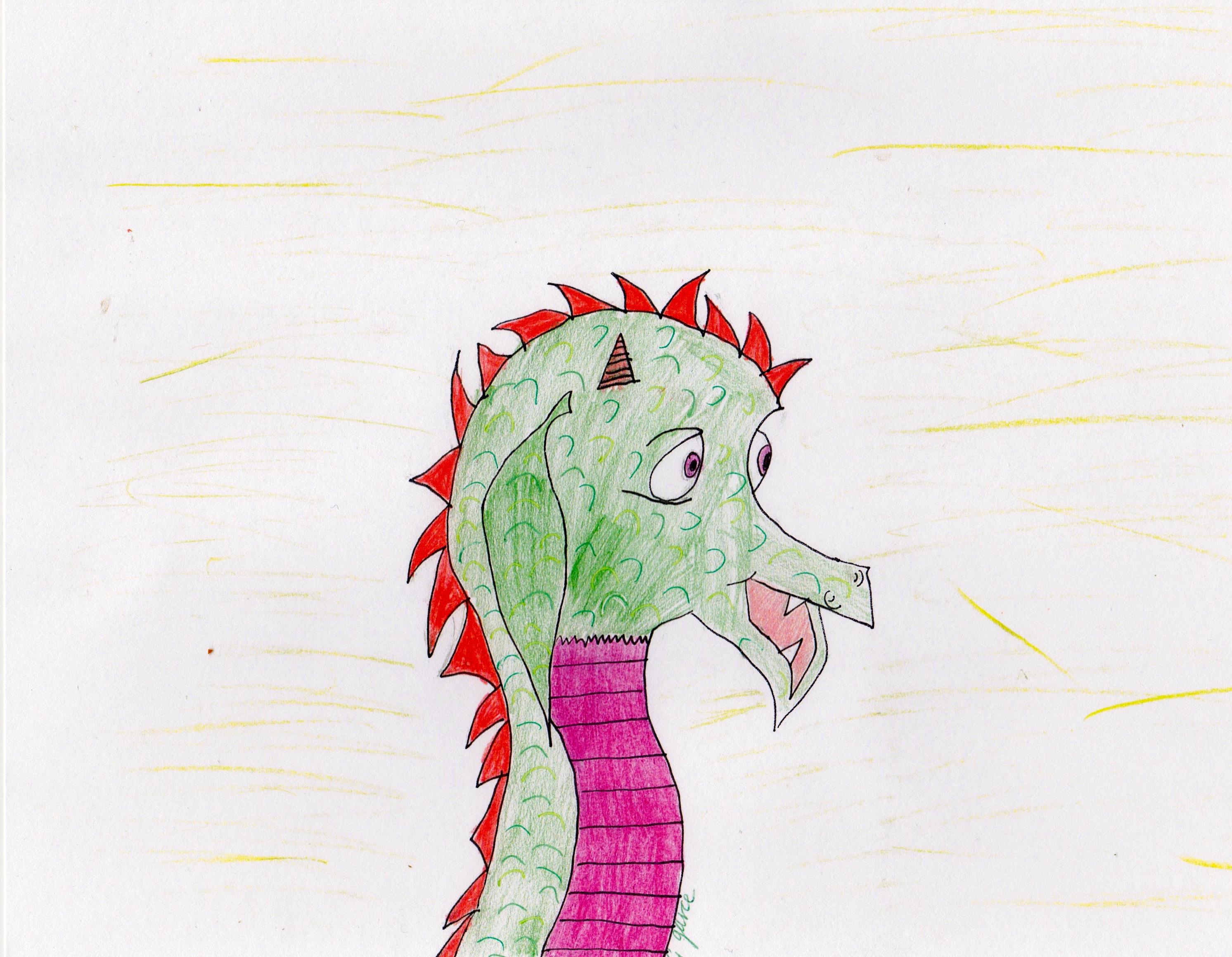 Lynn the Lady Dragon, by Georga Joy Garcia.